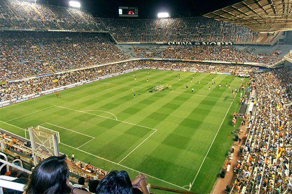 L'équipe de foot Valencia C.F