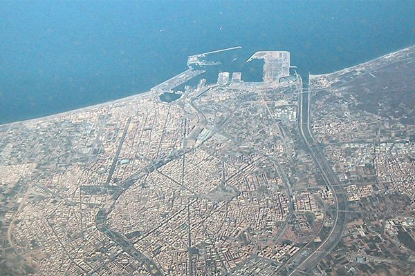 The Port of Valencia