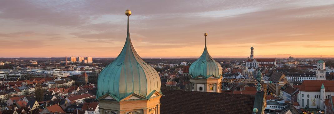 Augsburger Abendhimmel