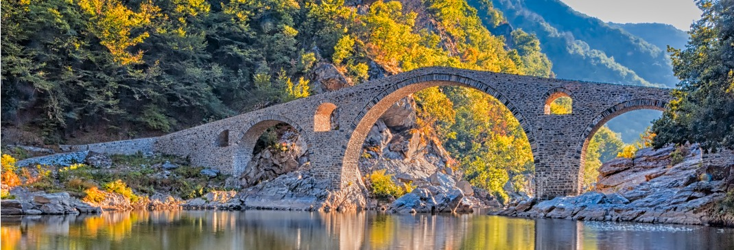 A stone bridge near Ardino
