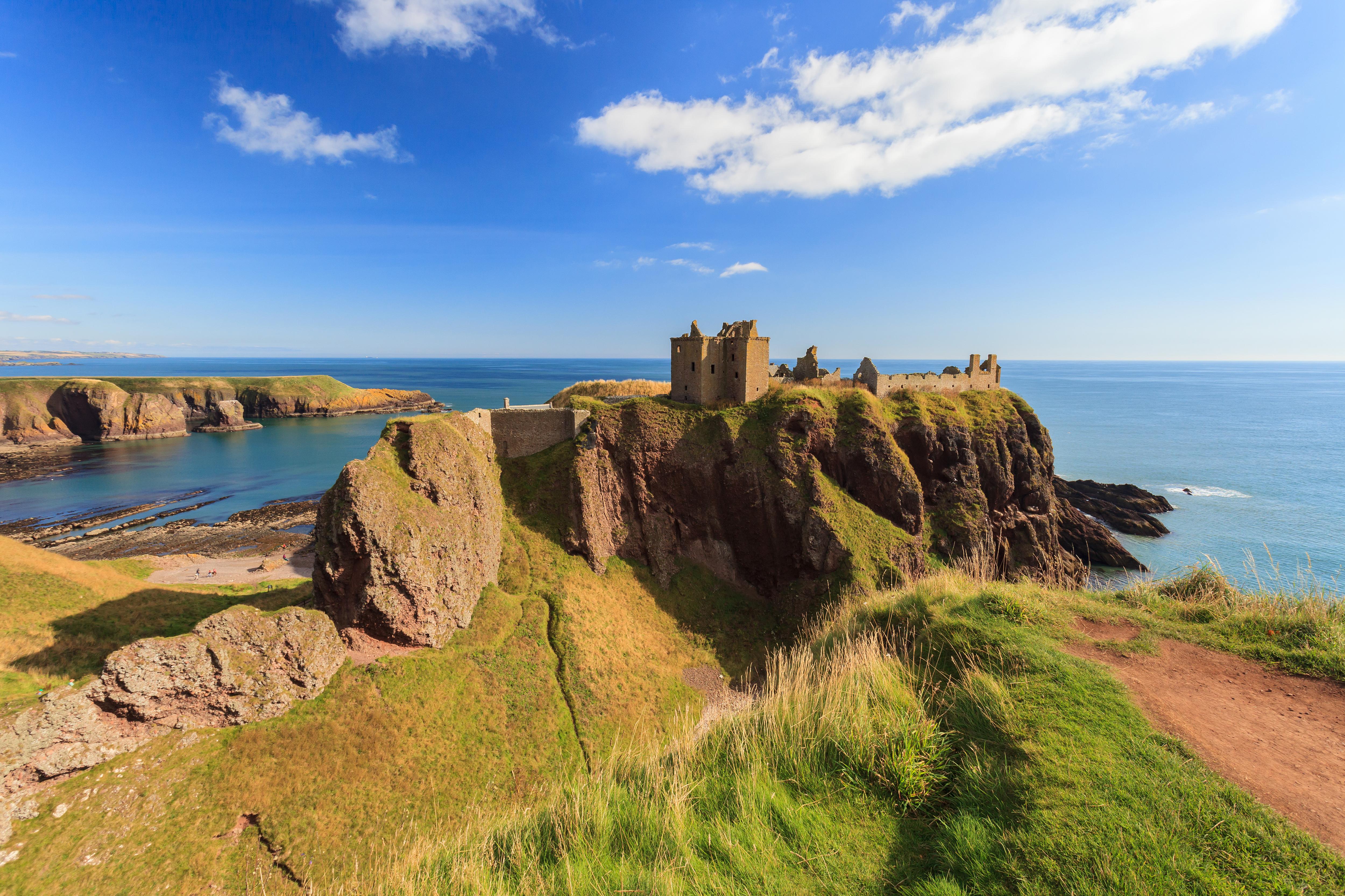 Coastal landscape near Edinburgh