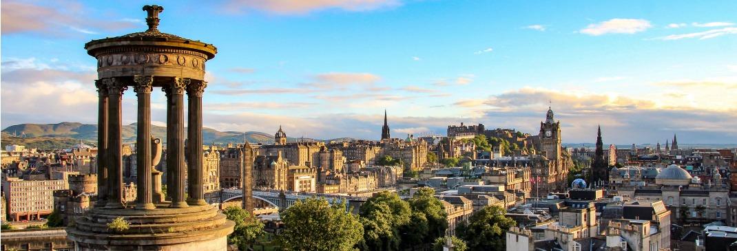 Guidare a Edimburgo e dintorni