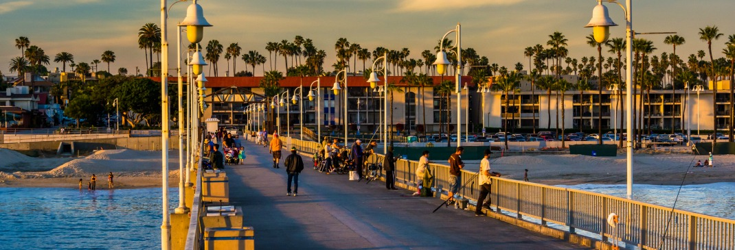 Promenade in Long Beach