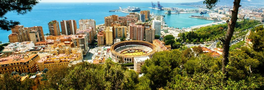 Verkeer in Malaga en omgeving