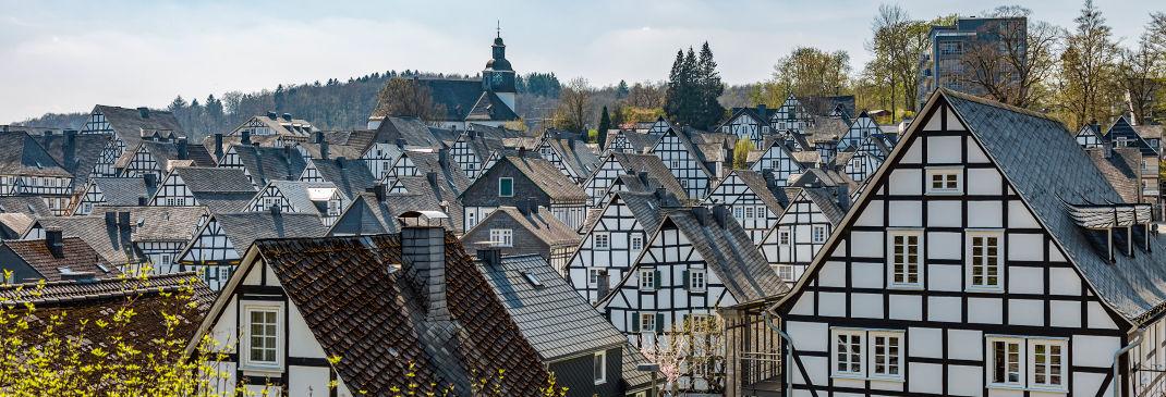 Über den Dächern von Siegen