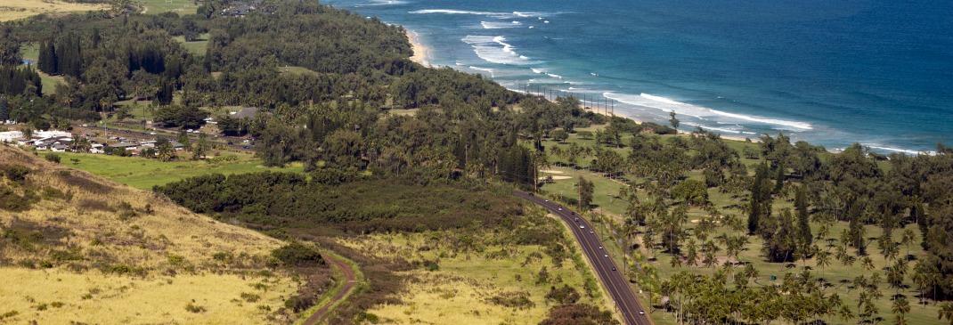 Küste auf Kauai bei Lihue