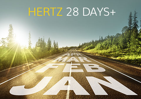 hertz car hire car rental long term car rental