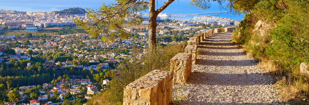 Path overlooking Alicante
