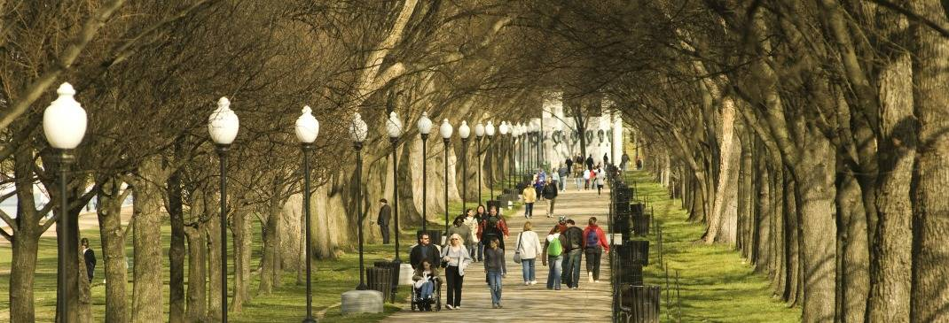Promenade in Washington D.C.