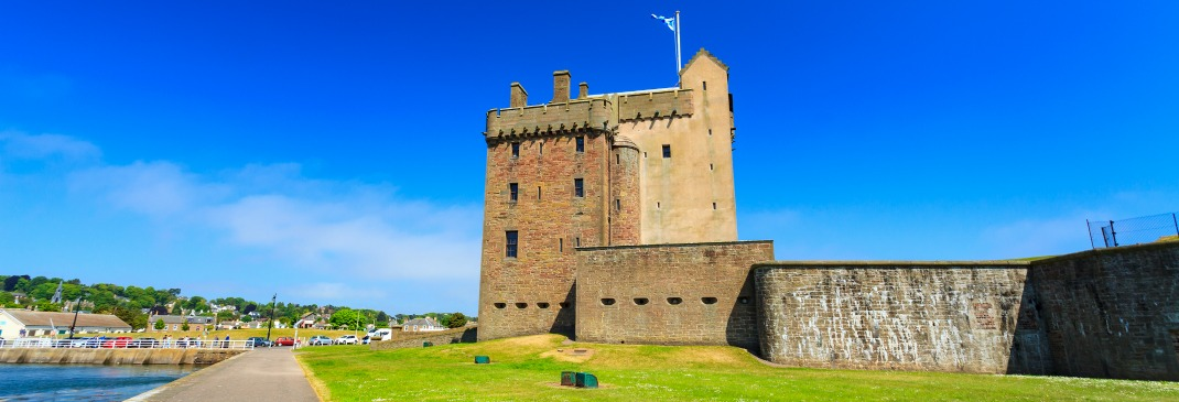 Broughty Ferry Castle in Dundee