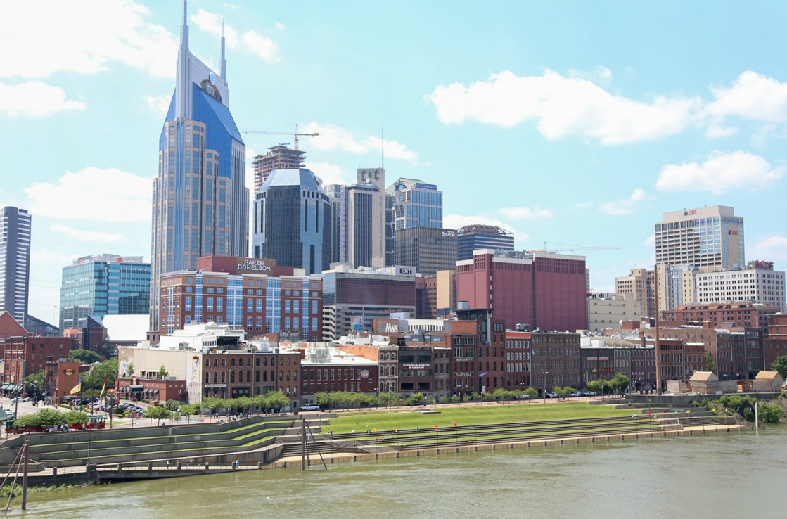 Nashville skyline during the day