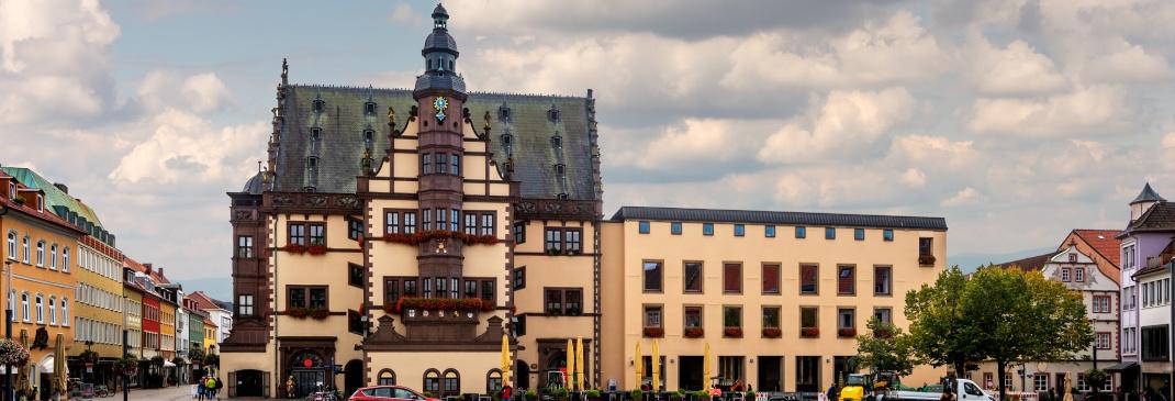 Driving in and around Schweinfurt