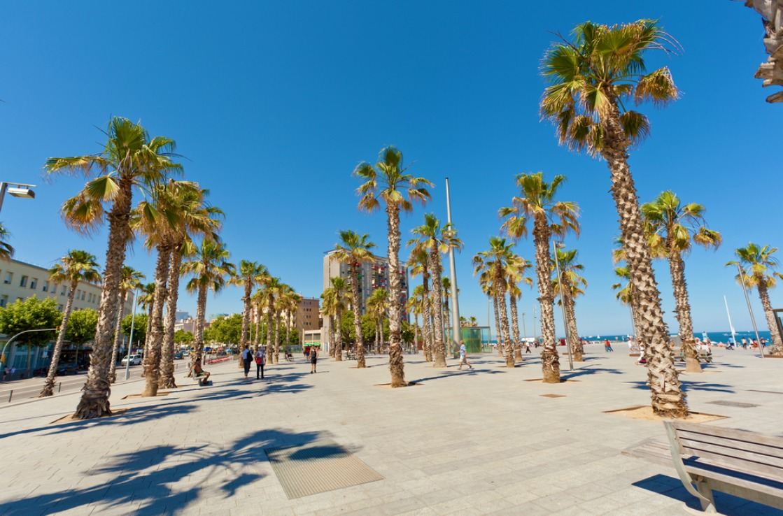 Barceloneta playa