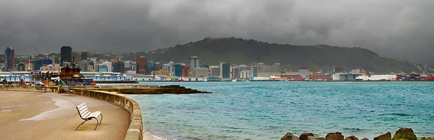 Wellington Climate and Weather Information banner