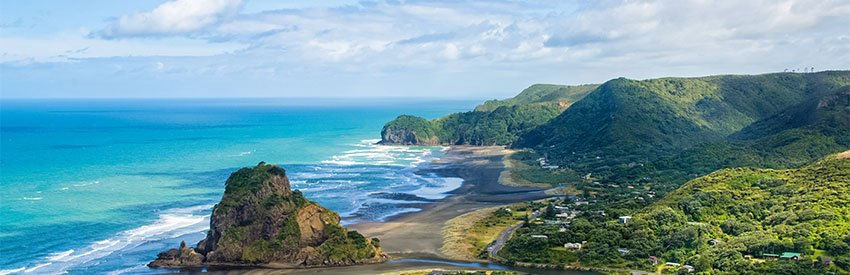4 of the best beaches in Auckland banner