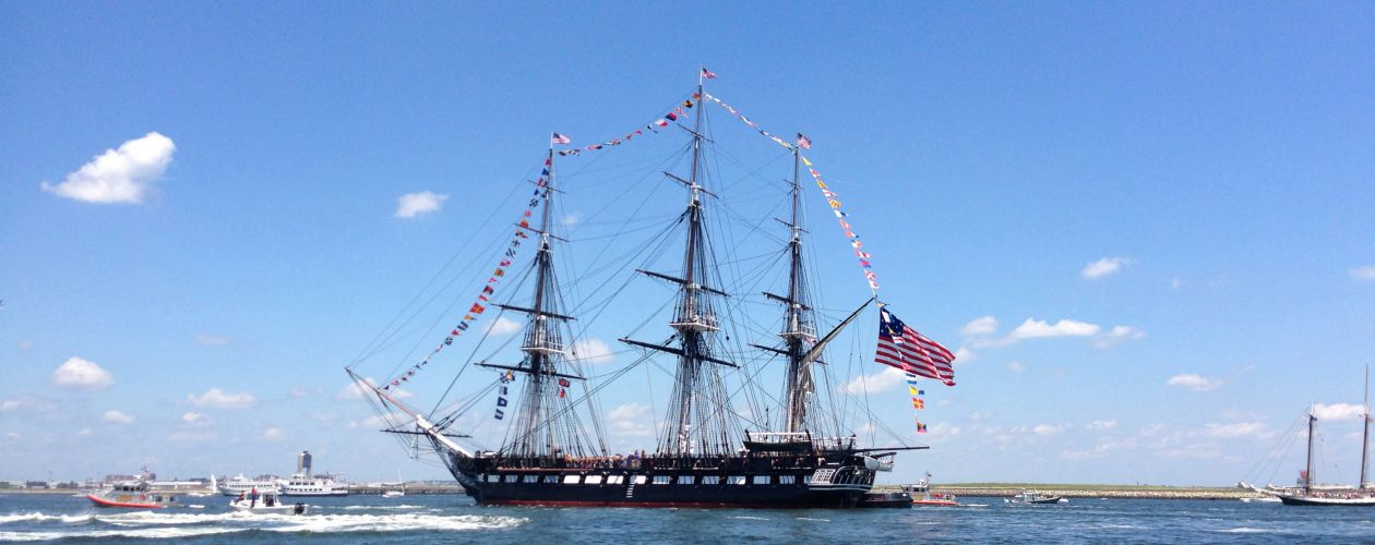 USS Constitution and Charlestown Navy Yard