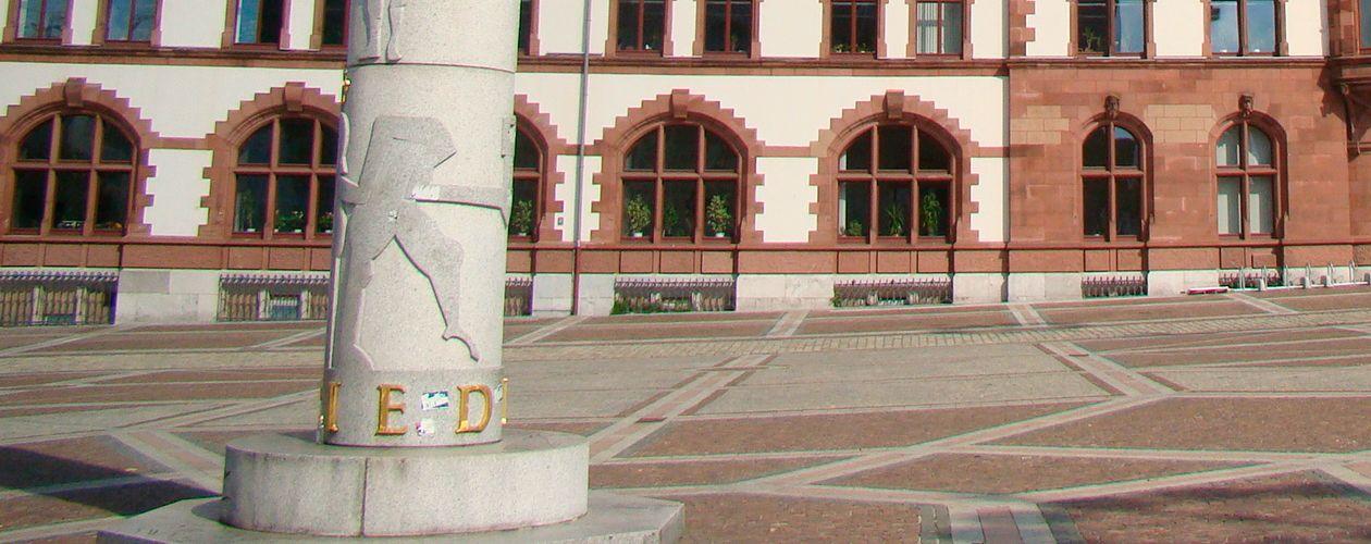 Innenstadt und Europabrunnen