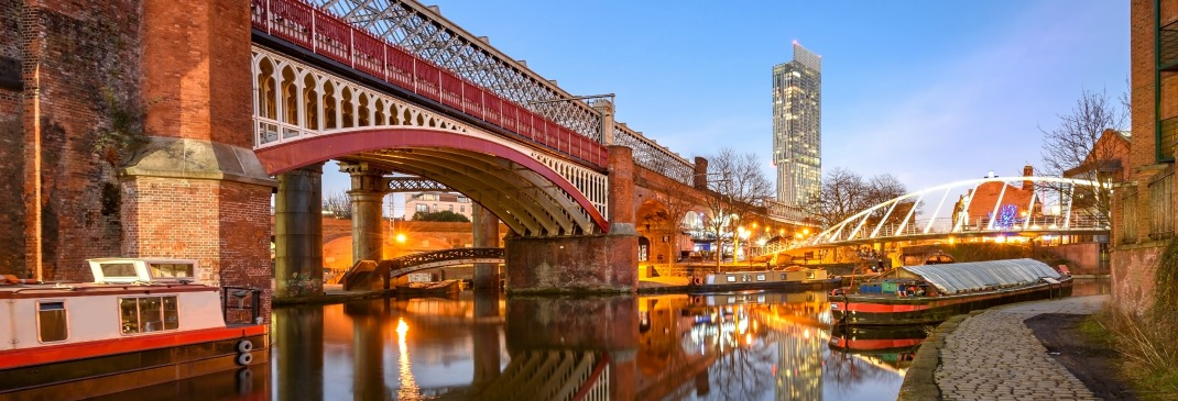 Bridge in Manchester