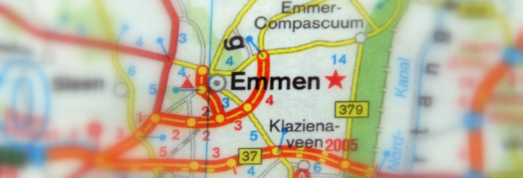 Rijden in en rond Emmen