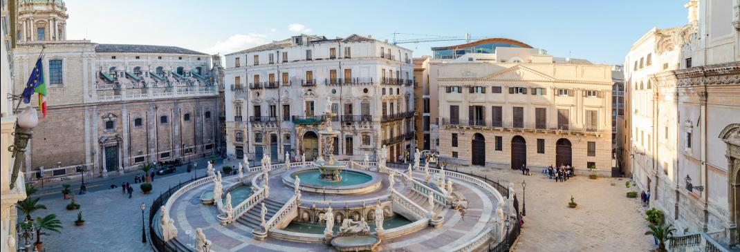 Verkeer in Palermo en omgeving