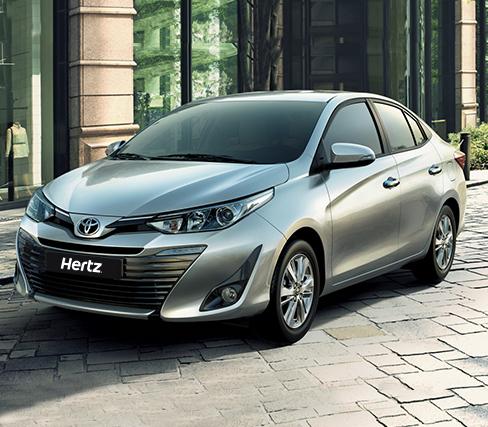 Toyota Car Lease in UAE | Hertz UAE