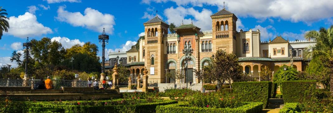 Alcazar Palast in Sevilla