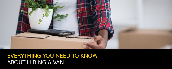 Everything you need to know about hiring a van