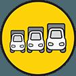 GROßE TRANSPORTER- UND LKW- AUSWAHL
