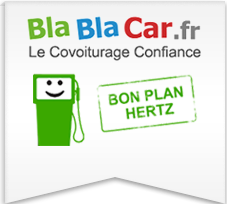 votre exp rience blablacar avec hertz hertz. Black Bedroom Furniture Sets. Home Design Ideas