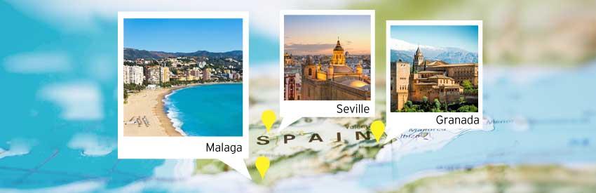 Alla scoperta dell'Andalusia: un tour di 5 giorni nel sud della Spagna banner