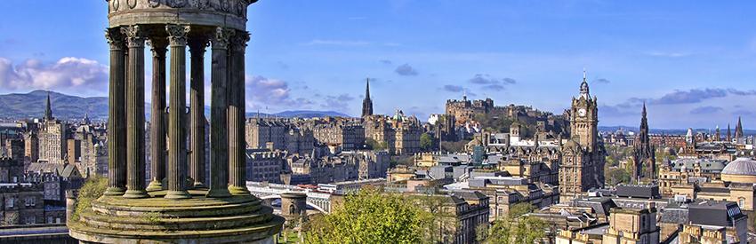 Edinburgh – a walker's paradise banner