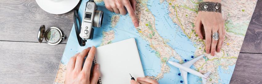 Condividi il tuo viaggio preferito!  banner