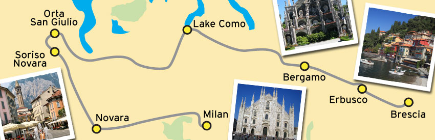 Northern Italy's Sparkling Lake Region banner