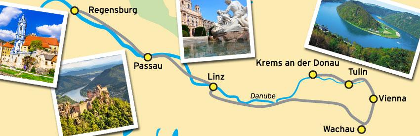 An der schönen blauen Donau banner
