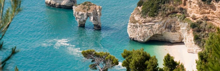 Viaggio attraverso le spiagge di Bari banner