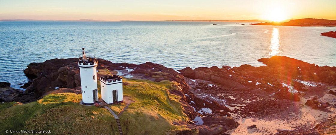 Elie Lighthouse en Lady's Tower