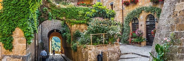 Civita di Bagnoregio – Viterbo, Italien