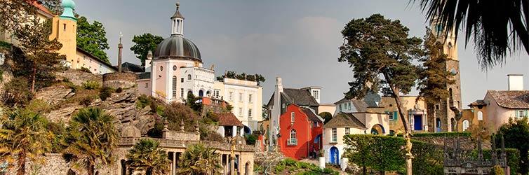 Portmeirion Village – Penrhyndeudraeth, Galles