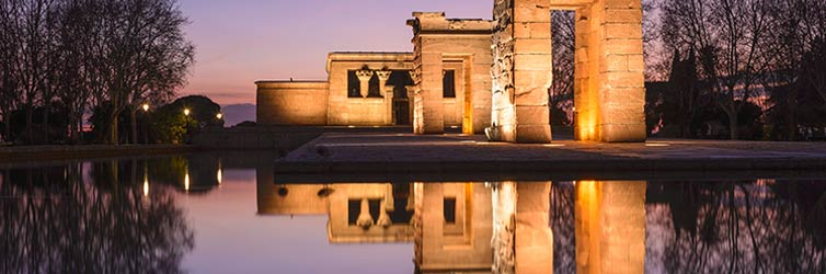 Templo de Debod – Madrid, Spain
