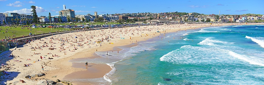 Visiting Bondi Beach | Sydney Airport Car Rental banner