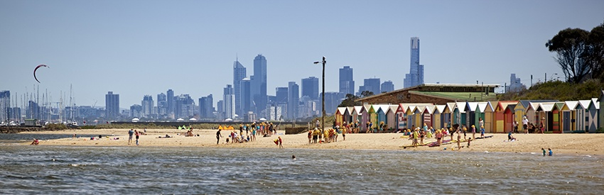 Melbourne Beaches banner