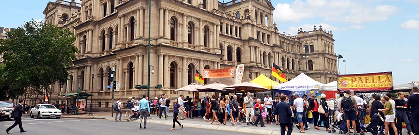 The best markets in Brisbane banner