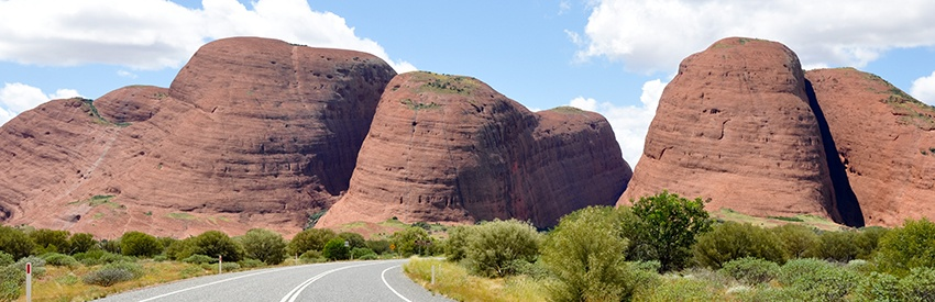 Discover Alice Springs with a rental car banner