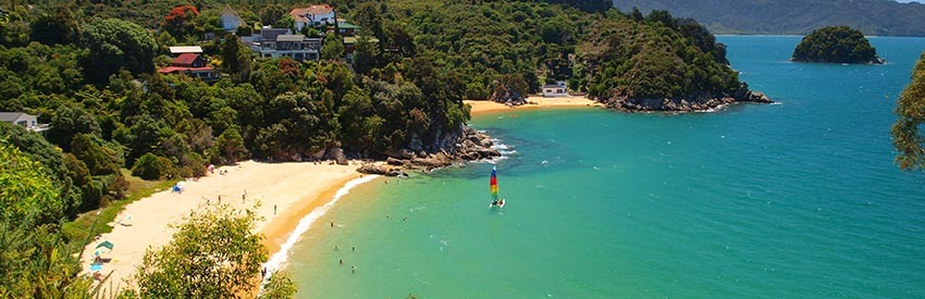 Visit Nelson and Abel Tasman National Park banner