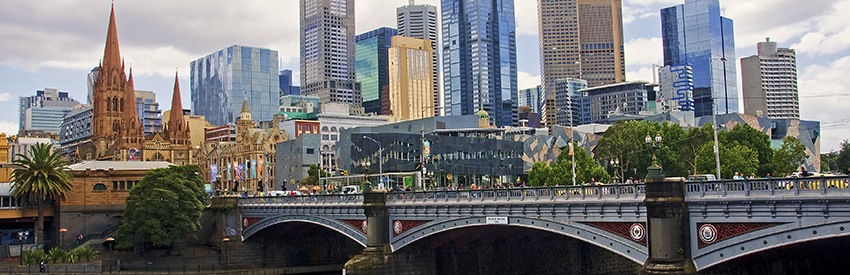 Melbourne climate and weather banner