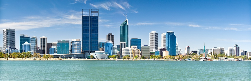 Discover Perth in a rental car banner