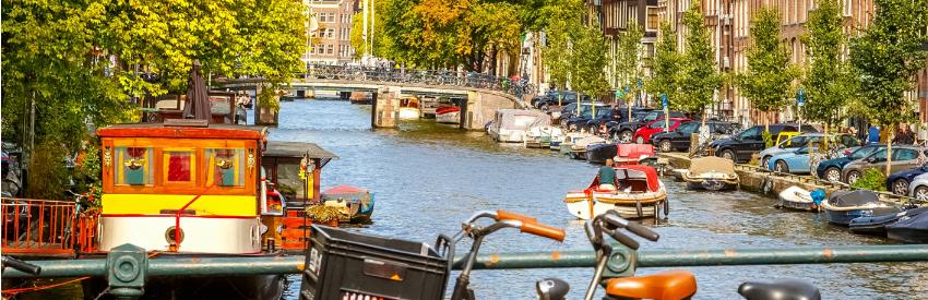 Ontdek de geschiedenis van Amsterdam banner