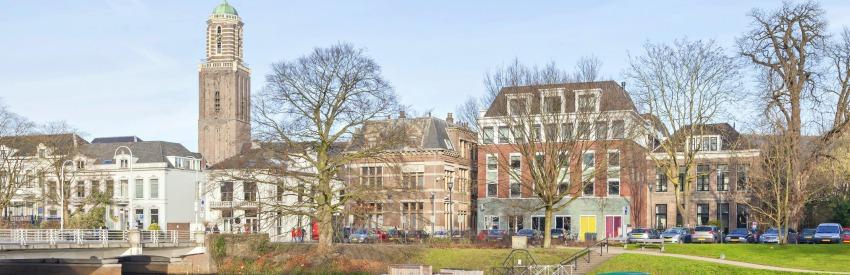 Hanzestad Zwolle - cultuur, architectuur en geschiedenis banner
