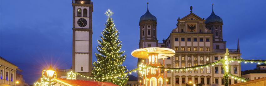 Augsburg, eine zauberhafte Winter-Tour banner
