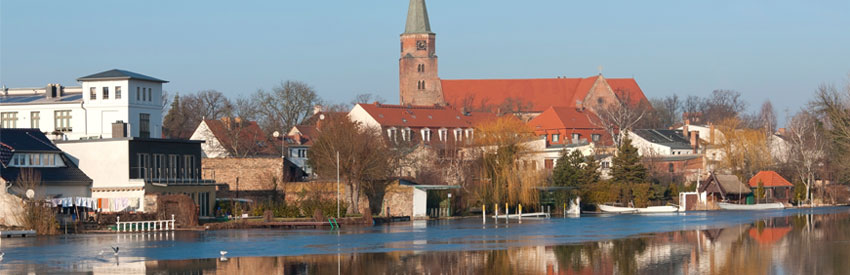 Brandenburg an der Havel - ein Familienausflug am Wasser banner